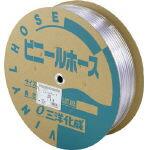 サンヨー 透明ホース15×20 50mドラム巻【環境安全用品】【ホース・散水用品】【ホース】