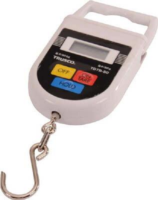 TRUSCO デジタル吊りばかり 50kg【生産加工用品】【計測機器】【はかり】