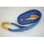 TESAC ブルースリング(JIS3等級・両端アイ形)【物流保管用品】【吊りクランプ・吊りベルト】【ベルトスリング】