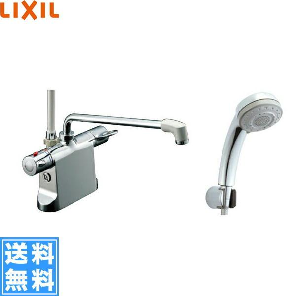 リクシル[LIXIL/INAX]シャワーバス水栓[サーモスタット・デッキタイプ][ビーフィットシリーズ][寒冷地仕様]BF-B646TNSB-300-A100【送料無料】