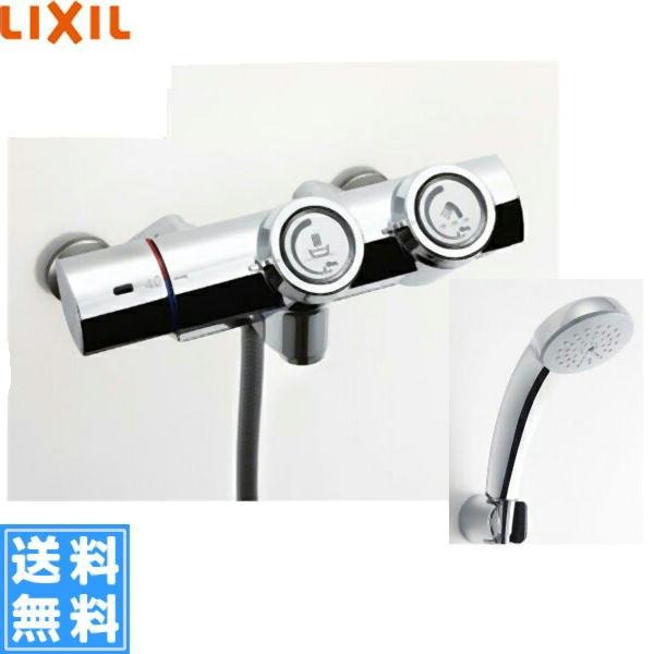 リクシル[LIXIL/INAX]シャワーバス水栓[サーモスタット][プッシュ式水栓][一般地仕様]BF-HW156TSC【送料無料】