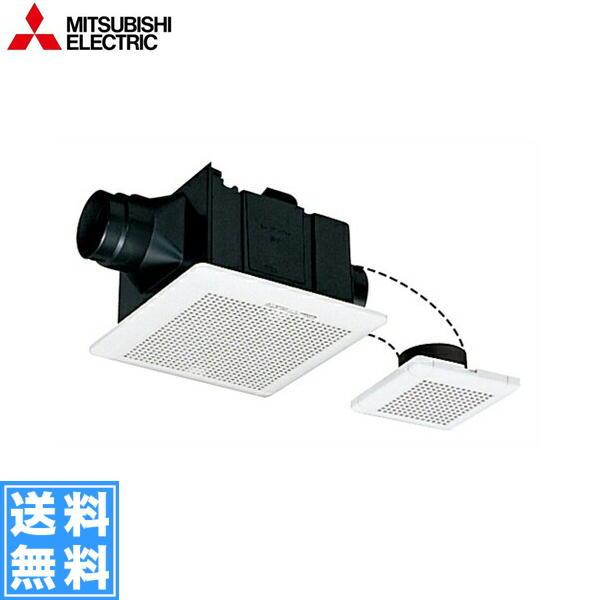 [VD-15ZFPC10]三菱電機[MITSUBISHI]天井換気扇・天井扇[二部屋換気用・低騒音タイプ]【送料無料】