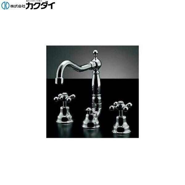 カクダイ[KAKUDAI]2ハンドル混合栓153-024【送料無料】