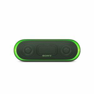 【キ対象】【納期約2週間】SRS-XB20-G SONY ソニー Bluetooth対応 ワイヤレスポータブルスピーカー グリーン SRSXB20G