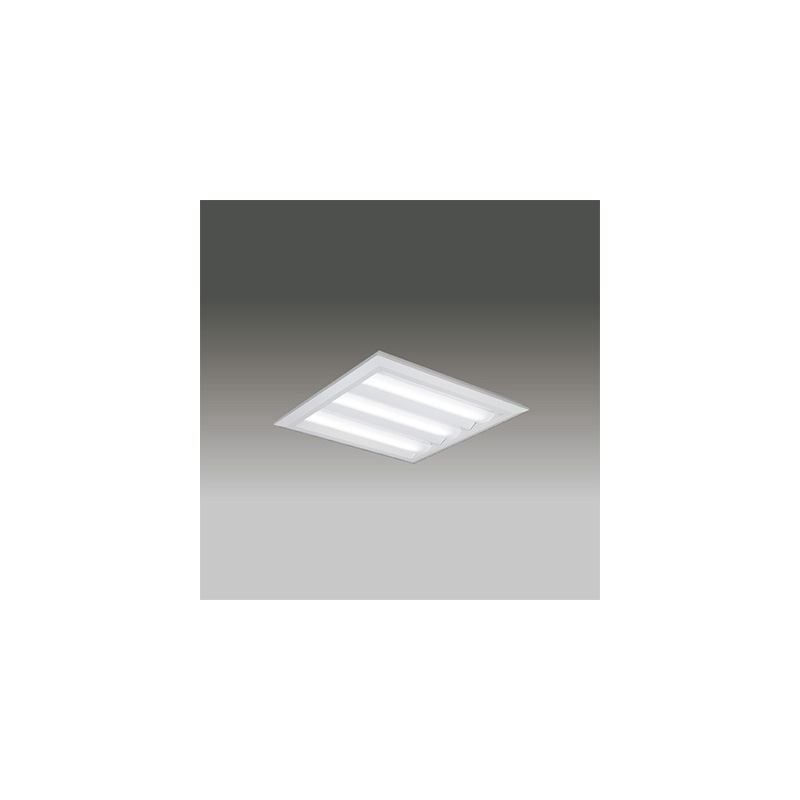 ☆東芝 LEDベースライト TENQOOスクエア LEDバータイプ FHP32形×3灯用器具相当 昼白色 直付埋込兼用形 下面開放タイプ 埋込穴□540mm AC100V~242V 専用調光器対応 LEDバー付 LEKT750652NLD9