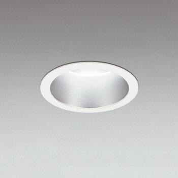 ☆ODELIC LEDベースダウンライト CDM-TP150W相当 オフホワイト・銀色 59°防雨形 埋込穴Φ150mm 昼白色 5000K  M形 一般型 専用調光器対応 XD301121 (電源・調光器・信号線別売) ※受注生産品