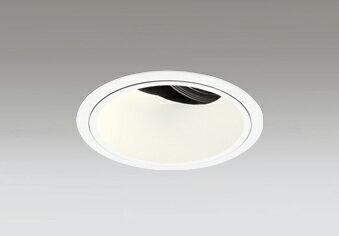 ☆ODELIC LED高彩色ユニバーサルダウンライト CDM-T70W相当 オフホワイト 15° 埋込穴Φ125mm 電球色 2700K  M形 一般型 専用調光器対応 XD402460H (電源・調光器・信号線別売)