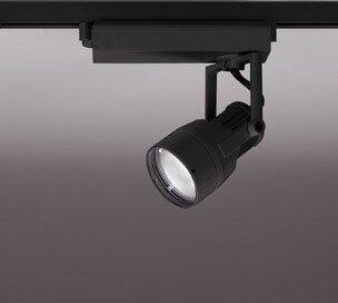 ☆ODELIC LEDスポットライト 高彩色タイプ 配線ダクトレール用 JR12V50W相当 ブラック 14° 25VA 温白色 3500K 調光非対応 XS413104H