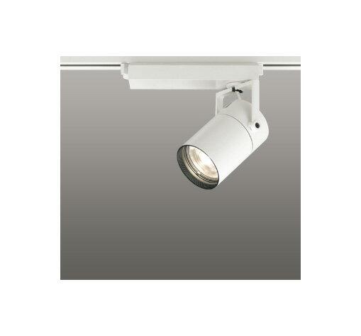 ☆ODELIC LEDスポットライト 高彩色タイプ 配線ダクトレール用 CDM-T35W相当 オフホワイト 16° 電球色 3000K  専用調光器対応 XS512105HC