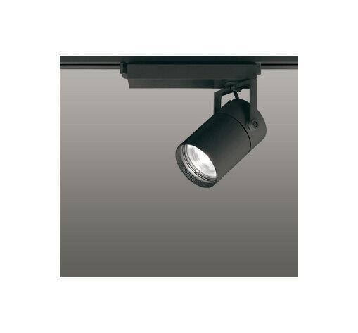 ☆ODELIC LEDスポットライト 高彩色タイプ 配線ダクトレール用 CDM-T35W相当 ブラック 33° 白色 4000K  専用調光器対応 XS512118HC