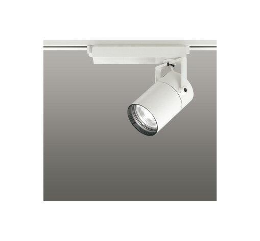 ☆ODELIC LEDスポットライト 高彩色タイプ 配線ダクトレール用 CDM-T35W相当 オフホワイト 62° 白色 4000K  専用調光器対応 XS512125HC