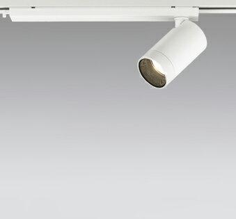 ☆ODELIC LEDスポットライト 配線ダクトレール用 JR12V50W相当 オフホワイト 24° 電球色 3000K  専用調光器対応 XS613107HC