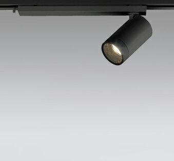 ☆ODELIC LEDスポットライト 配線ダクトレール用 JR12V50W相当 ブラック 24° 電球色 2700K  調光非対応 XS613112H