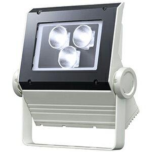 大人もOK ☆岩崎 LEDioc FLOOD NEO(レディオック フラッド ネオ) LED投光器 90クラス 狭角タイプ 昼白色(5000K)タイプ 本体色:ホワイト LED一体形 ECF0998NSAN8W