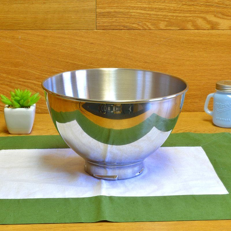 【送料無料】キッチンエイド スタンドミキサー用ステンレス小ボール 2.8LKitchenAid KB3SS 3-Quart Stainless Steel Bowl for Pivot Head Stand Mixers【RCP】