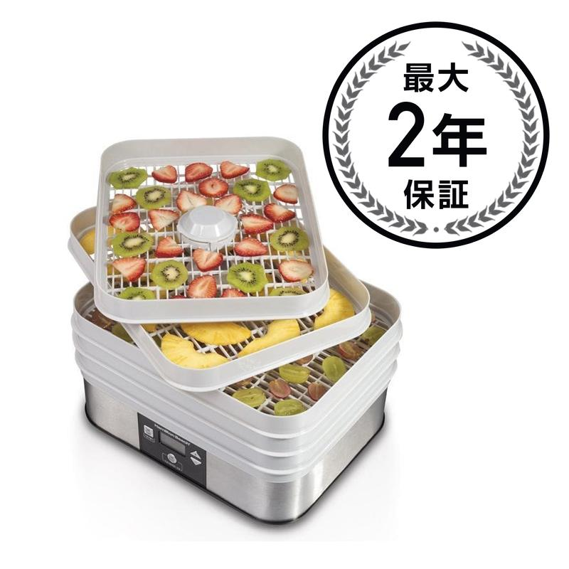 食�乾燥器 ディ�イドレーター Hamilton Beach 32100A Food Dehydrator, Gray