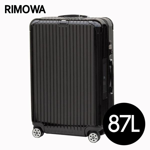 リモワ RIMOWA サルサデラックス 87L ブラック E-Tag SALSA ELECTRONIC TAG マルチホイール スーツケース 831.73.50.5