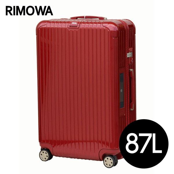 リモワ RIMOWA サルサデラックス 87L オリエンタルレッド E-Tag SALSA ELECTRONIC TAG マルチホイール スーツケース 831.73.53.5