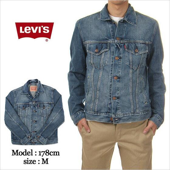リーバイス Gジャン LEVIS デニムジャケット ジャケット メンズ 大きいサイズ LEVI'S  送料無料 ファッション  ビンテージインディゴデニムウォッシュ AMAZING アメージング 服