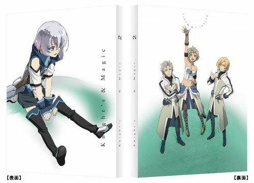 BD ナイツ&マジック 2 (Blu-ray Disc)[バンダイビジュアル]《取り寄せ※暫定》