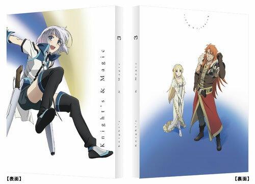 BD ナイツ&マジック 3〈最終巻〉(Blu-ray Disc)[バンダイビジュアル]《02月予約※暫定》