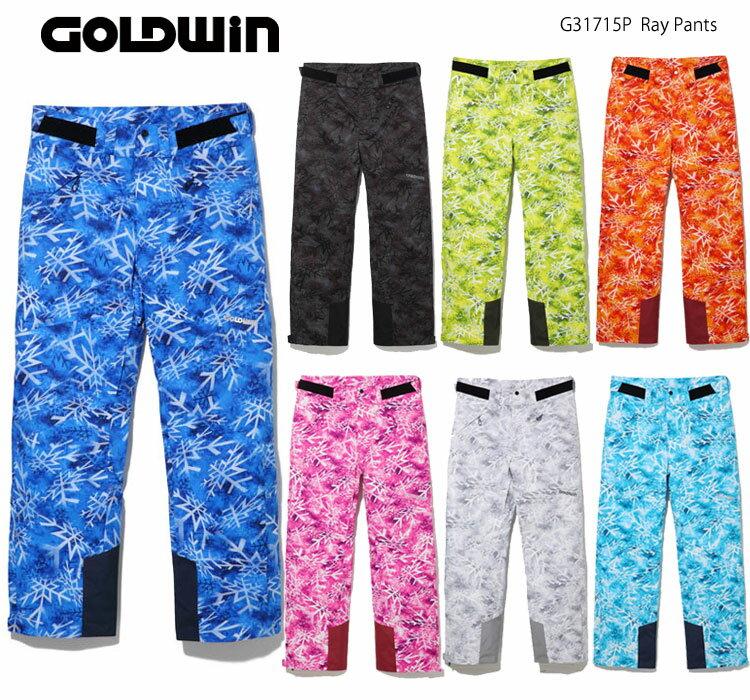 スキーウェア パンツ/GOLDWIN ゴールドウイン G31715P(17/18)