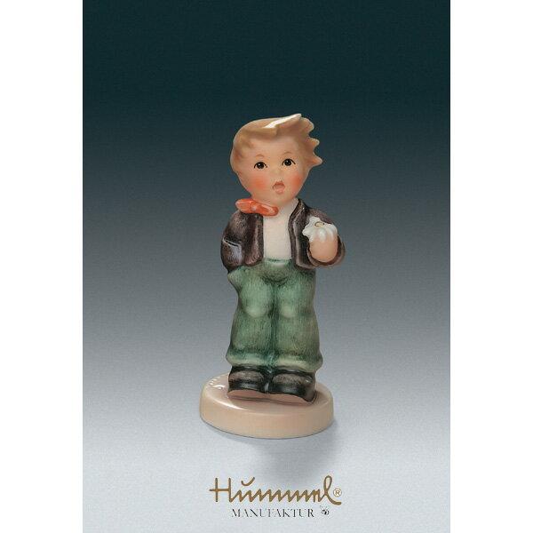 M.I Hummel/フンメル人形・フンメルドールお花をあなたに【正規代理店品】