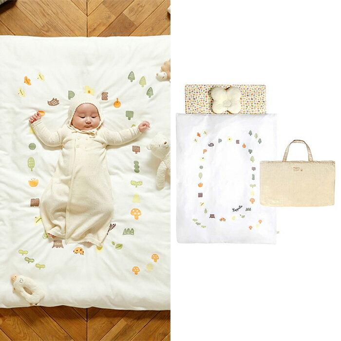 【ベビー】【Hoppetta】ポルカベビー布団セット【赤ちゃん ねんね ふとん 寝具】