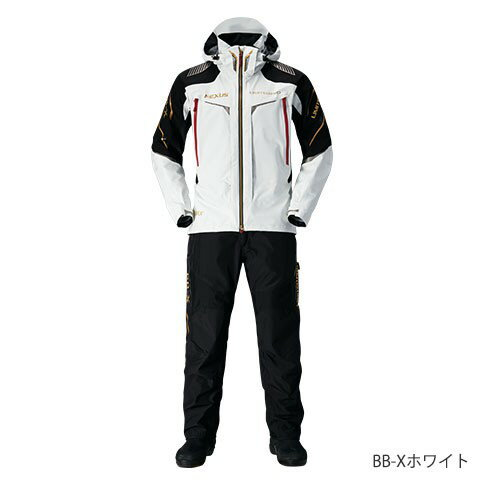 シマノ(shimano) RA-112Q BB-Xホワイト XLs NEXUS・GORE-TEX® RAINSUIT LIMITED PRO