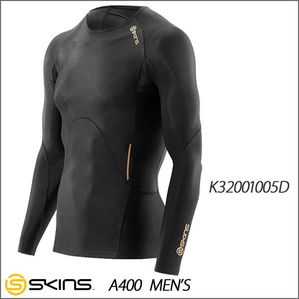 ☆SKINS(スキンズ)  A400 メンズ ロングスリーブトップ   K32001005D