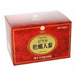 【送料無料】【トキワ漢方製薬】ビスカ牡蠣人参 6粒×30包 ※お取り寄せ商品【RCP】