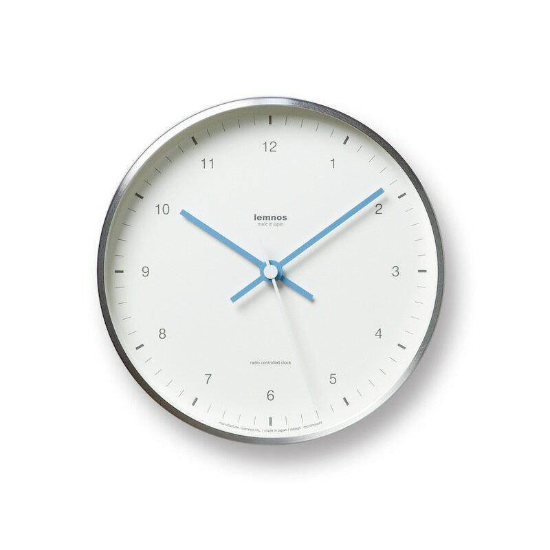 【送料無料】 Lemnos レムノス MIZUIRO 電波時計 ホワイト LC07-06 WH 掛け時計