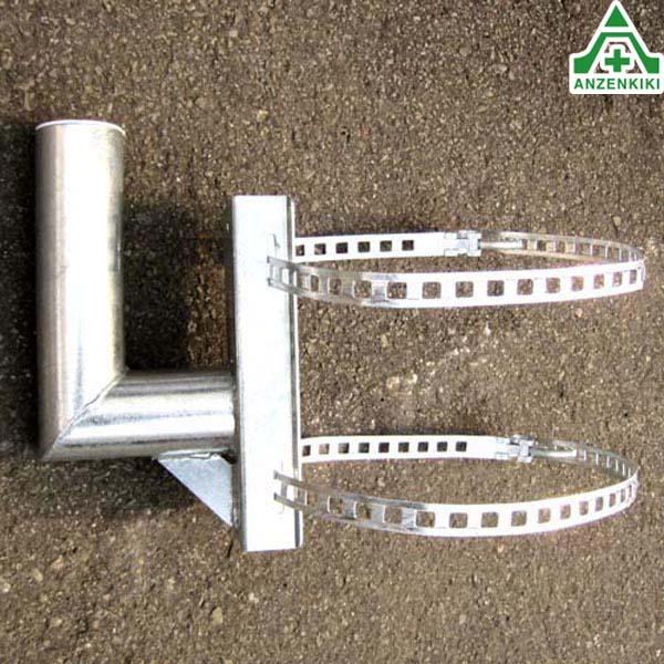 カーブミラー用電柱取付金具 60.5mm用