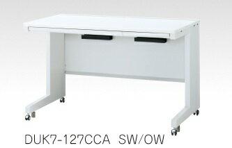 デュエナ 平机 デスク キャスター脚 引出し付き Kタイプ W1600×D600×H700mm
