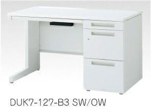 デュエナ 片袖机 デスク Kタイプ L 型脚 B4-3段 W1600×D700×H700mm