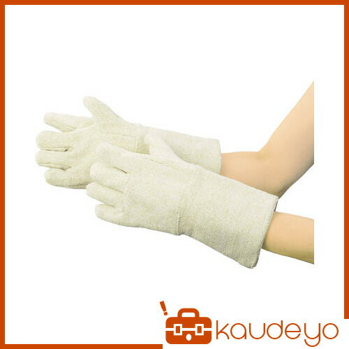TRUSCO セラミック耐熱保護手袋 5本指タイプ フリーサイズ TCAT5 3100