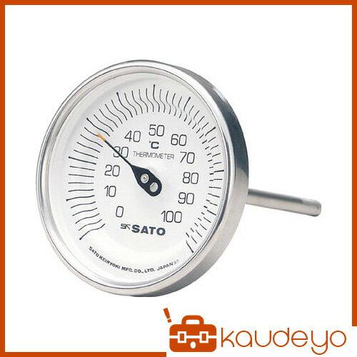 佐藤 バイメタル温度計BM-T型 BMT90S4 3011