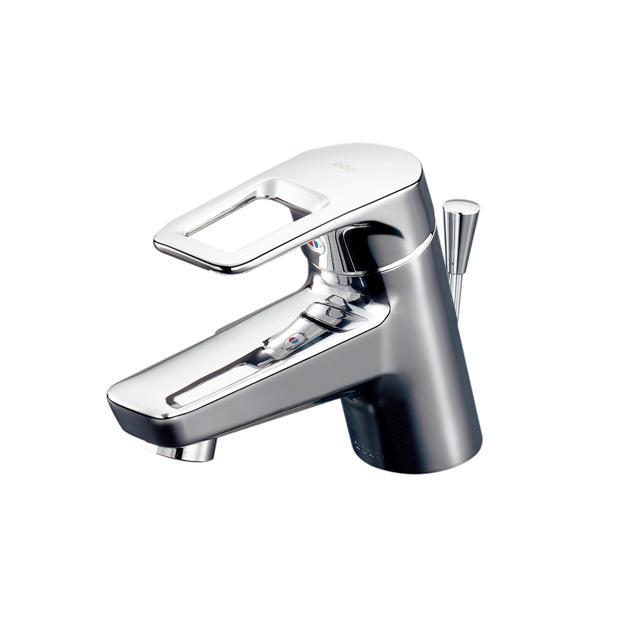 【送料無料】TOTO 洗面器用エコシングル水栓レバーハンドル湯側回転角度規制タイプTL431(ワンプッシュ排水金具専用)(受注生産品:納期2週間)