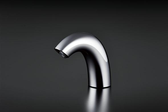 【送料無料】 TOTOアクアオート(自動水栓 発電タイプ)サーモ水栓(高温出湯規制)ソフト吐水・ワンプッシュなしTENA50AW