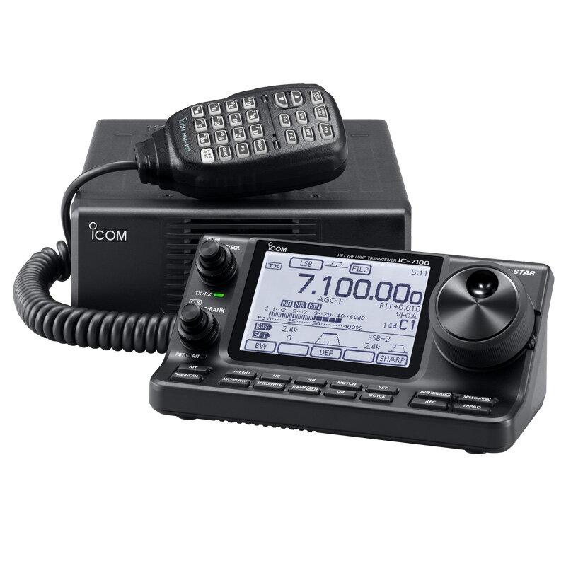 IC-7100M  トランシーバー アマチュア無線 アイコム   HF-430MHzオールモード トランシーバー (50W)