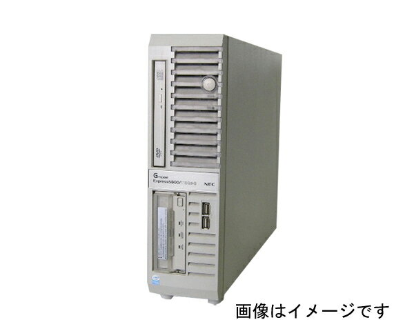 NEC Express5800/110Gd-S(N8100-1282Y)【中古】Pentium4-3.4GHz/2GB/80GB×2