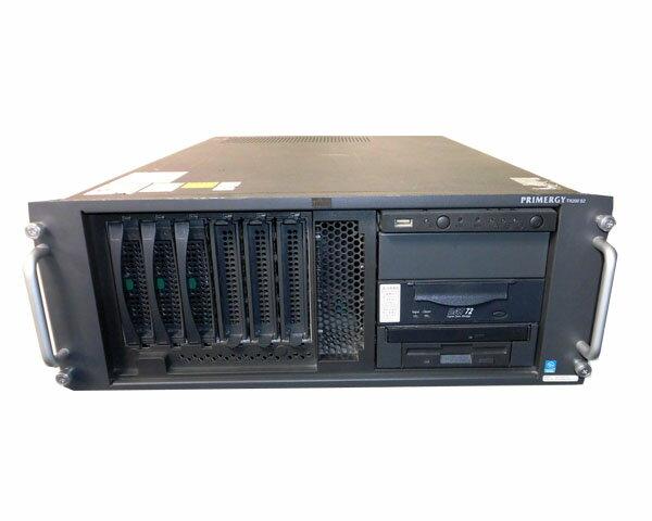 富士通 PRIMERGY TX200 S2 PGT2023GS(ラック型) Xeon 3.0GHz×2/3GB/HDDレス(別売り)/AC×2【中古】