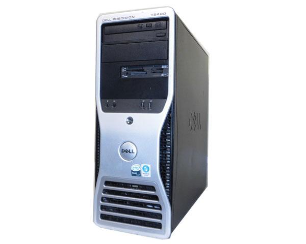 ワケあり(OSなし) DELL PRECISION T5400 中古ワークステーションXeon X5450 3.0GHz/4GB/250GB/FX1700