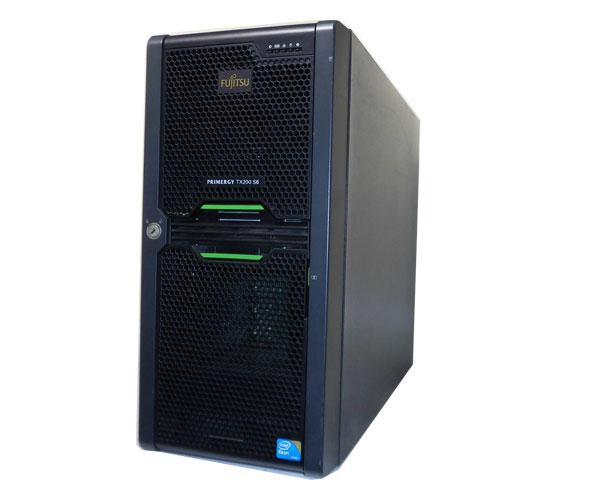 富士通 PRIMERGY TX200 S6【中古】PGT2062E63(3.5インチモデル)Xeon E5620 2.4GHz/4GB/HDDなし/AC*2