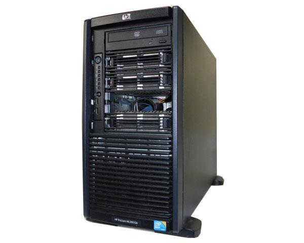 HP ProLiant ML350 G6 600431-295【中古】Xeon E5620 2.4GHz/4GB/146GB×2/RAID