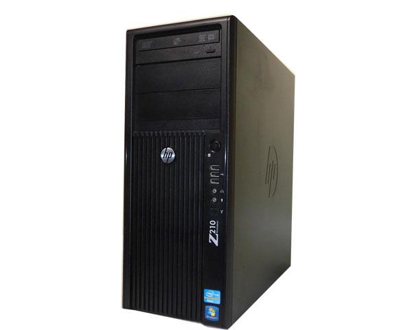 HP Workstation Z210 CMT XM856AVWindows7-64bit 中古ワークステーション 送料無料Xeon E3-1270 3.4GHz/8GB/500GB/Quadro 2000