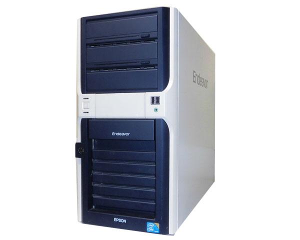Windows7 中古パソコン タワー型EPSON Endeavor Pro4700Core i7-860 2.8GHz/4GB/250GB×2/GeForce GTX 275