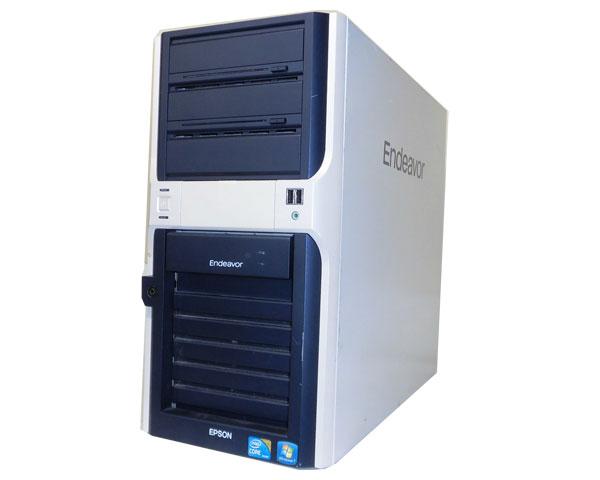 Windows7 中古パソコン タワー型EPSON Endeavor Pro 4700Core i7-870 2.93GHz/4GB/500GB×2/GeForce GTX 275