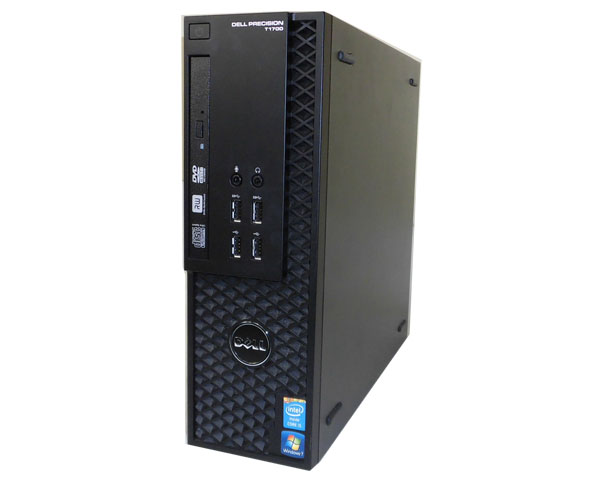 Windows7-64bit DELL PRECISION T1700 SFF送料無料 中古ワークステーションCore i5-4670 3.4GHz/8GB/1TB/NVS310