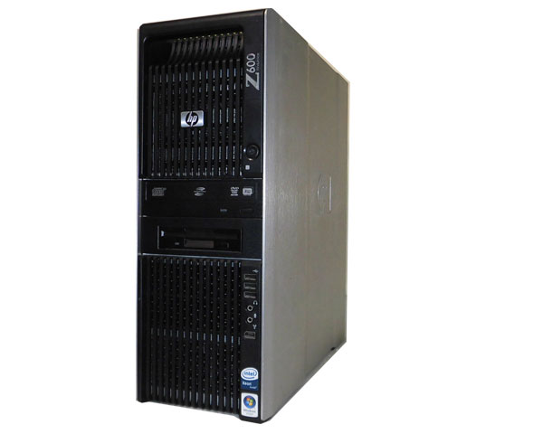 ワケあり(OSなし) HP Workstation Z600 FW863AV【中古】Xeon E5504 2.0Ghz×1基/4GB/250GB/FX1800